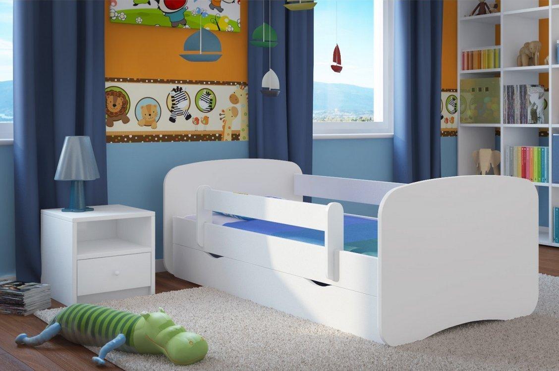 детская кровать с бортиками дизайн фото