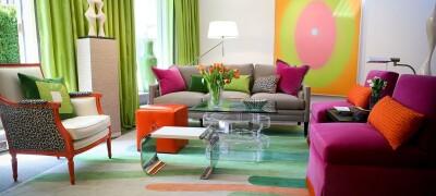 Как сочетаются цвета в интерьере, как подобрать мебель к полу и стенам