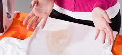 Чем и как можно убрать блеск от утюга на одежде из разной ткани
