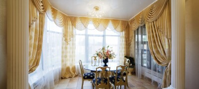 Разновидности и поэтапность драпировки штор