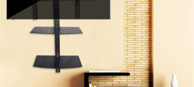 Особенности полки под телевизор на стену