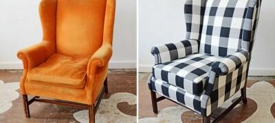 Обновление старого кресла своими руками