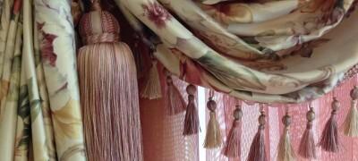 Виды кистей для штор и их использование