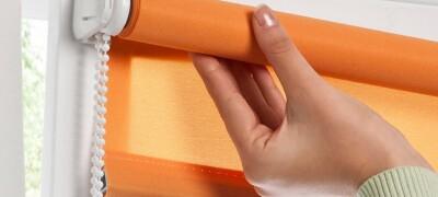 Описание и виды фурнитуры для рулонных штор