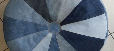 Как сшить подушки из старых джинсов