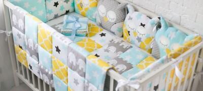 Декорирование кроватки для ребенка