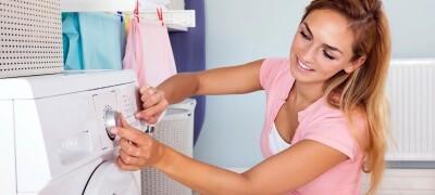 Правильная стирка штор в стиральной машинке