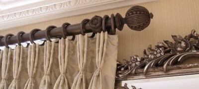 Выбор и изготовление своими руками деревянного карниза для штор