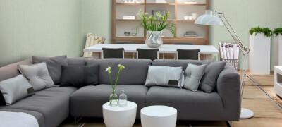 Красивые модели угловых диванов для гостиной