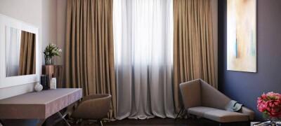 Выбор и применение итальянских штор в интерьере