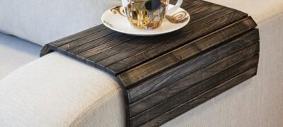 Виды конструкций и схемы изготовления накладок для подлокотников дивана