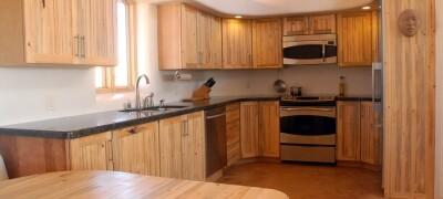 Как сделать кухню из мебельного щита