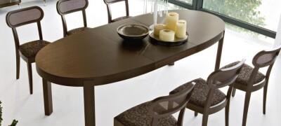 Размеры обеденного кухонного стола на 4 и больше человек