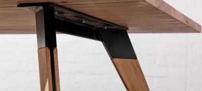 Как крепить ножки к столу