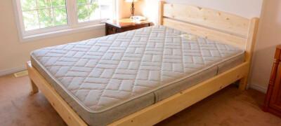 Как своими руками сделать кровать для дачи