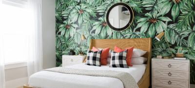 Чем и как правильно украсить и оформить стену над кроватью своими руками