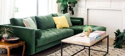 Виды обивочной ткани для диванов и их особенности