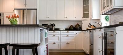 Правильное расположение кухонной мебели