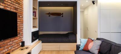 Чем является ниша для кровати в стене — особенности расположения в квартире