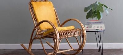 Инструкция по изготовлению кресла-качалки своими руками