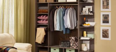Какие размеры шкафа купе для одежды