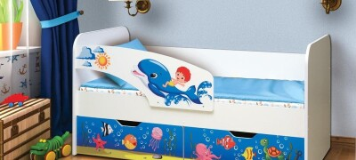 Пошаговая инструкция по сборке кровати «Дельфин»