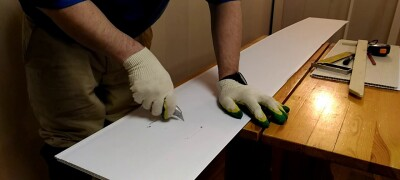Как разрезать пластиковую панель в домашних условиях
