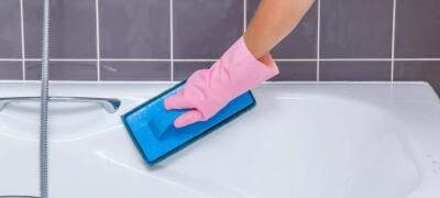 Способы удаления известкового налета в ванной
