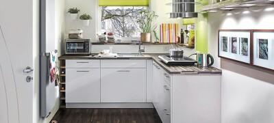 Расстановка мебели в маленькой кухне