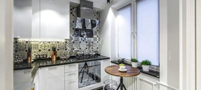 Как расставить мебель на кухне 6 кв. м.