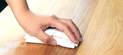Как удалить белые пятна на мебели