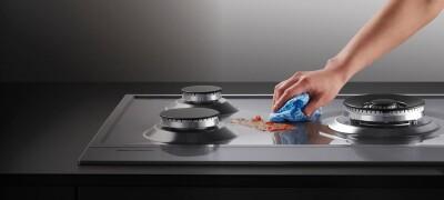 Чистка плиты в домашних условиях