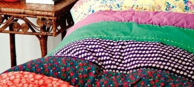 Изготовление покрывала в спальню