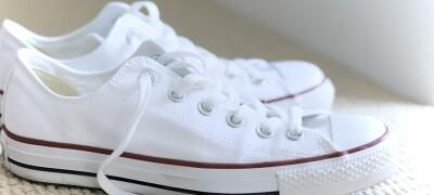Как отбелить белые кроссовки в домашних условиях