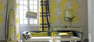 Как подобрать шторы по цвету обоев и мебели
