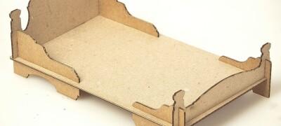 Пошаговая инструкция изготовления кровати из картона