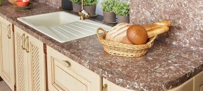 Стандартные размеры столешницы для кухни