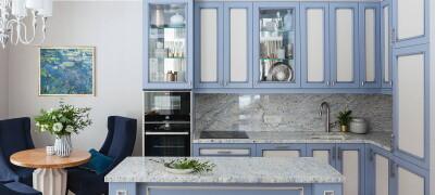 Подбор цвета для кухонного гарнитура