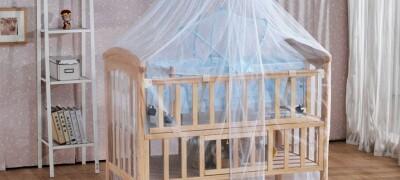 Балдахин на детскую кровать своими руками