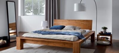 Выбор и описание кроватей из сосны