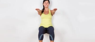 Как правильно делать упражнение для ног — стенка
