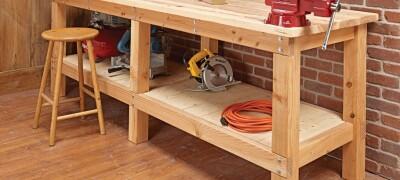 Изготовление и описание стола для столярных работ