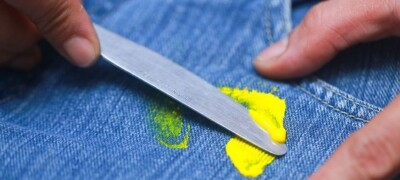 Способы удаления загрязнений краской в домашних условиях