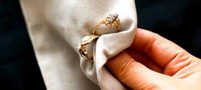 Как почистить золотое изделие