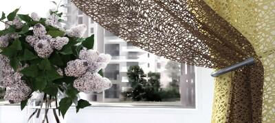 Обзор и характеристики штор сетка