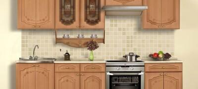 Размеры и схемы кухонной мебели