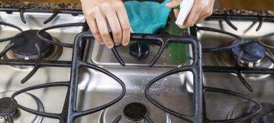 Чем и как очистить решетку газовой плиты от жира и нагара