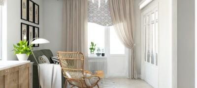 Характеристики штор в скандинавском стиле