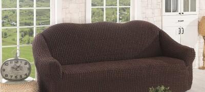 Как быстро и просто пошить чехол на диван