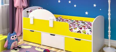 Как выбрать детскую кровать от 3 лет с бортиками